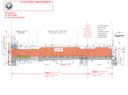 Second Street Project Map