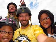 Our esteemed Skate Park Coordinator, Dave