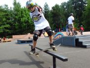 Robby, throwing some style at camp!