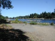 Sandy Beach on Willamette River Picture