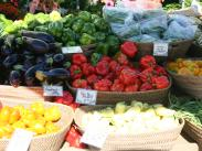 Veggies at Lake Oswego Farmers' Market