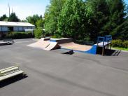 Lake Oswego Skate Park Features