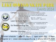 Events at the Skate Park