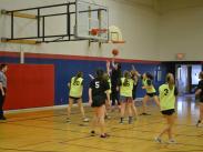High School City League Basketball