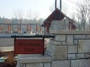 Foothills Park Entrance Sign