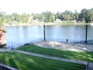 View of Willamette River from Amphitheater