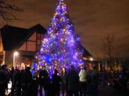 Christmas Tree Lighting:  A Festival of Twinkling Lights