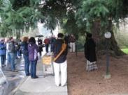 Opening Ceremony at the Peg Tree - 141 Leonard Street