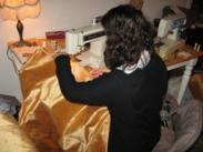 Melissa Miller - Sewing Silk