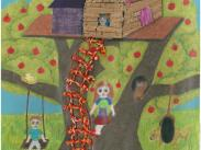 3rd – 5th Grade Category, 1st Place: Melanie Du, 5th Grade