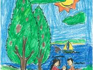 Pre-K – 2nd Grade Category, 1st Place: Mahdy Muratov, 2nd Grade