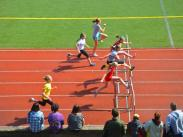 Category 5 - 2nd Place:  Hurdles at LOHS by Crystal Liu