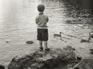 Category 4 – People of Lake Oswego Honorable Mention – Young Angler by Chris Tho