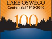 City of Lake Oswego Oregon Centennial Logo