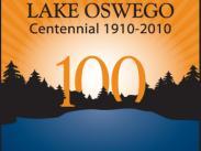 City of Lake Oswego Oregon Centennial Logo