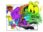 Preschool Catagory winner, artist Lizzy Greenwood