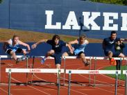 Category 5 - 2nd Place:  The Jump at Pacer-Lakers Track Meet by Sophie Richards