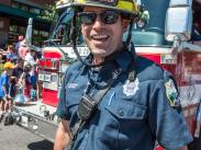 Cat3 First Place:  Happy Firefighter by Michael Berger
