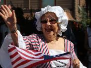 Cat4 Second:  Happiest Lady in Parade by Carol Goerges
