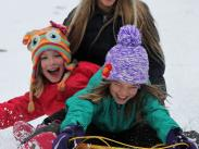 Category 3 - Third Place: Snow Day Girls by Megan Lovelace