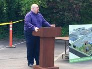 Public Works Director, Anthony Hooper