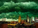 Photo: Downtown Kansas City, May 25 2011 - Late May Tornado Outbreak