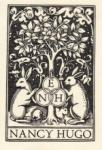Rabbits Congregating -- Bookplate