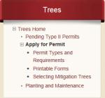 City of Lake Oswego Oregon Official Website Tree Menu