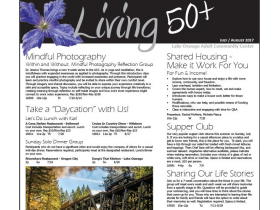 July/August Living 50+ Newsletter