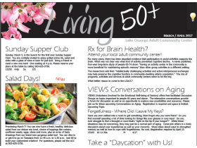 March/April Living 50+ Newsletter