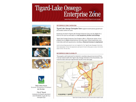 Tigard/Lake Oswego Enterprise Zone