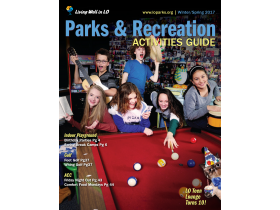2017 Winter/Spring Parks & Recreation Activities Guide