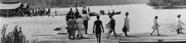 Historic Oswego Lake dock