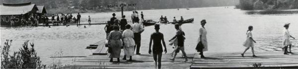 Historic Oswego Lake dock