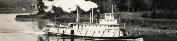 Historic steamboat