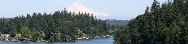 Mt Hood and Oswego Lake