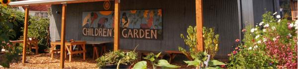Luscher Farm childrens garden
