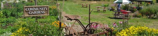 Luscher Farm Community Gardens