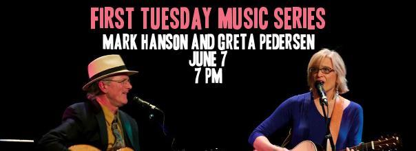 Mark Hanson and Greta Pedersen