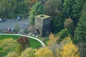 Historic Furnace Aerial photo