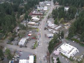 Boones Ferry Road aerial photo