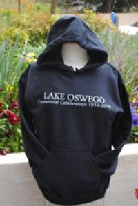 Centennial Black Long Sleeve Hooded Sweatshirt