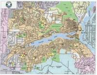 Lake Oswego City Wall Map