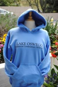 Centennial Light Blue Long Sleeve Hooded Sweatshirt