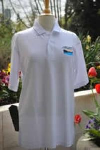 Centennial White Poly-Dri Polo Shirt