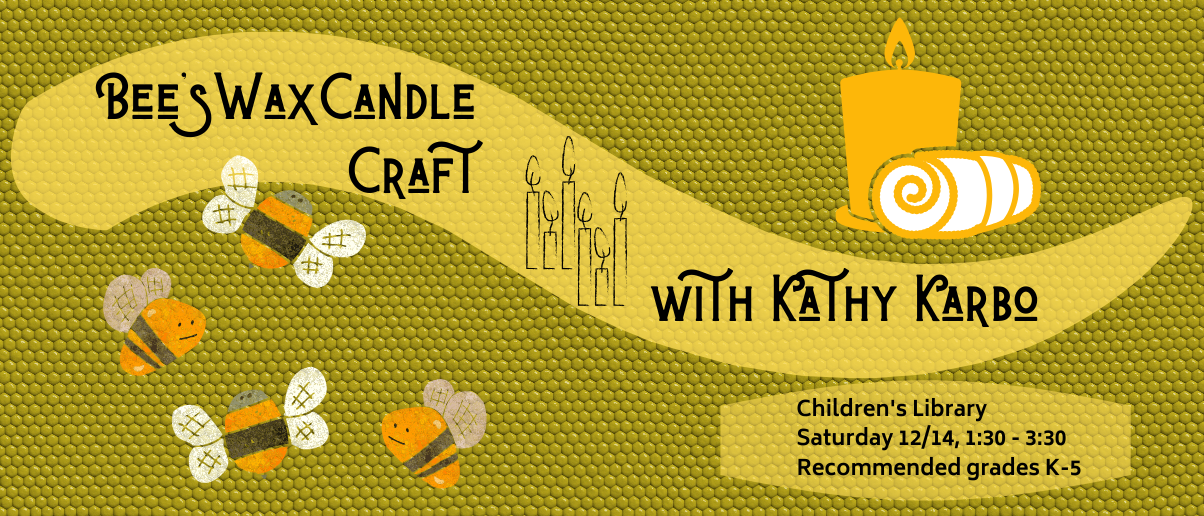 Beeswax Candle Craft with Kathy Karbo