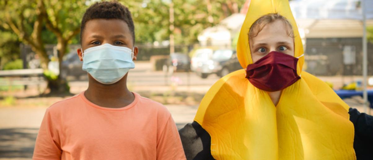 Mask Up - photo by Amanda Edwards, 2020