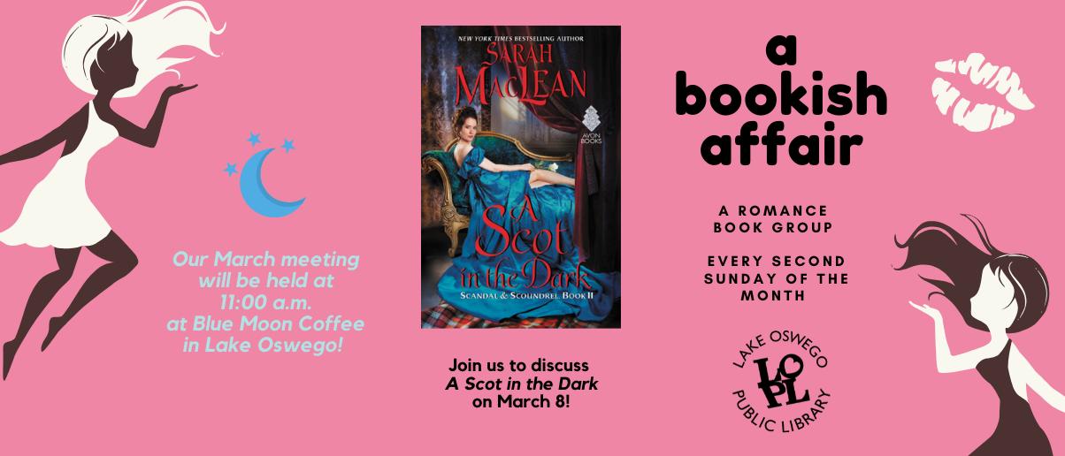 March 8 Bookish Affair
