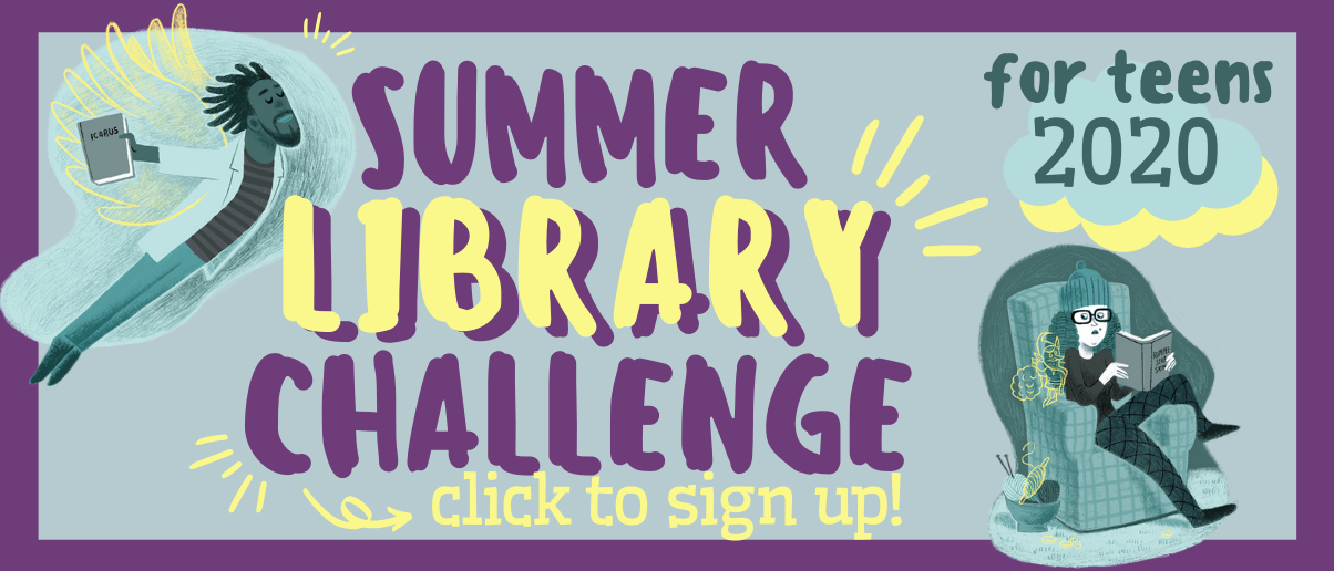 welcome to teen Summer Library Challenge