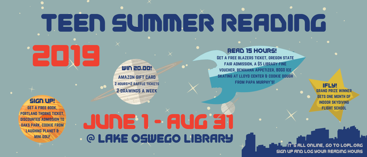 Teen Summer Reading 2019 Banner